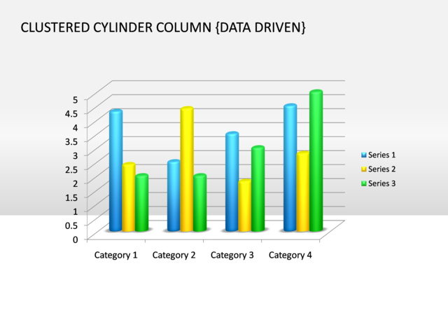 Powerpoint slide clustered cylinder chart 3d multicolor data powerpoint slide clustered cylinder chart 3d multicolor data driven ccuart Choice Image