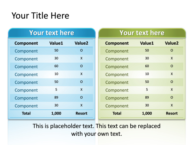 Powerpoint slide comparison table diagram multicolor 11 rows powerpoint slide comparison table diagram multicolor 11 rows tg ccuart Images