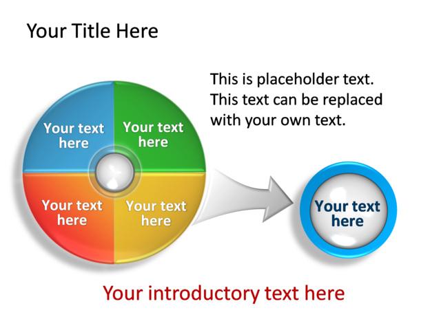 powerpoint slide diagram circle 3d multicolor 4 sections tg 226 1 powerpoint slide diagram circle 3d multicolor 4 sections