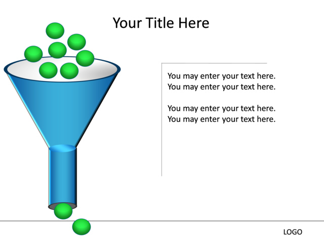 Powerpoint slide funnel diagram 3d blue 1 stage mp 122 powerpoint slide funnel diagram 3d blue 1 stage mp ccuart Image collections