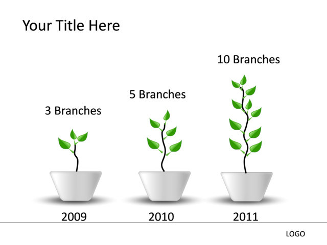 Powerpoint slide growth diagram 3d green 3 plants mp 187 powerpoint slide growth diagram 3d green 3 plants mp ccuart Image collections