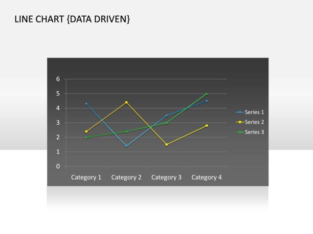 Line Chart Data Logger : Powerpoint slide line chart d multicolor data