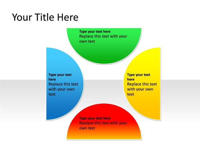 Powerpoint slide relationship diagram 4 circles multicolor powerpoint slide relationship diagram multicolor 4 circles pl 257 ccuart Images