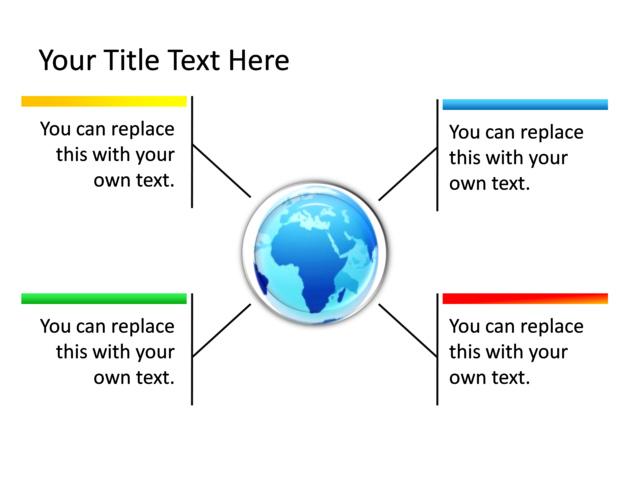 Powerpoint Slide - Text Box Diagram