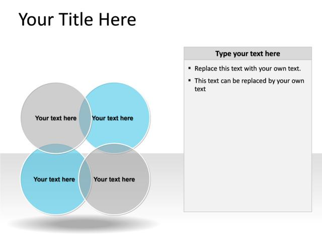 Powerpoint slide venn diagram blue 4 circles pl136 powerpoint slide venn diagram blue 4 circles pl 136 ccuart Images