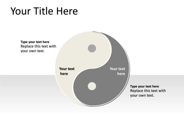 Powerpoint slide yin yang diagram multicolor 2 sides pl195 powerpoint slide yin yang diagram multicolor 2 sides pl toneelgroepblik Gallery
